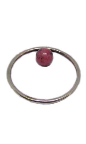 Inverse Ring – Rhodonite