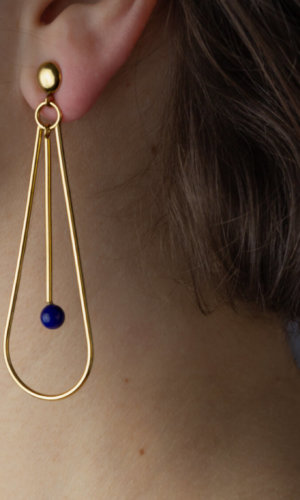 Natalia Earrings – 18K Gold Plated