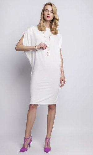Beige day dress