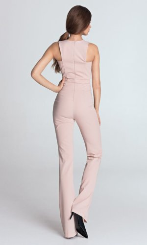 Comfortable sleeveless jumpsuit