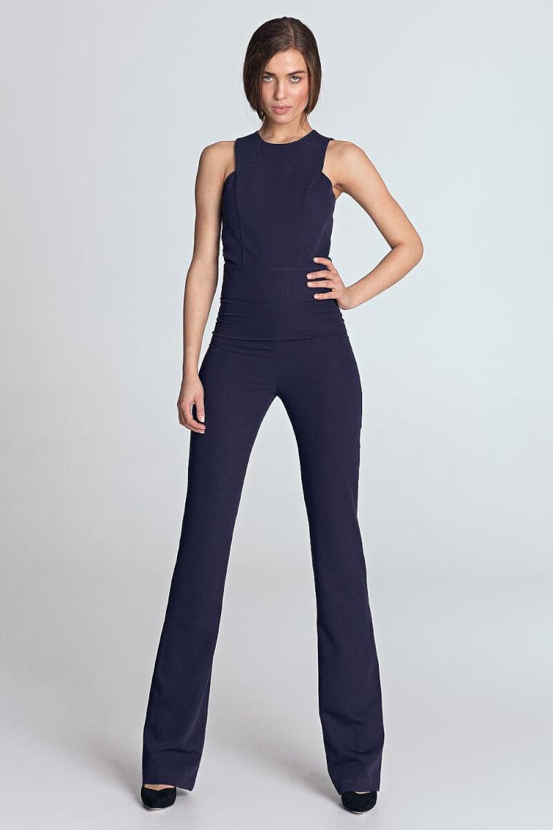 Comfortable sleeveless jumpsuit