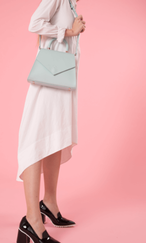 The Jennifer Light Blue Bag