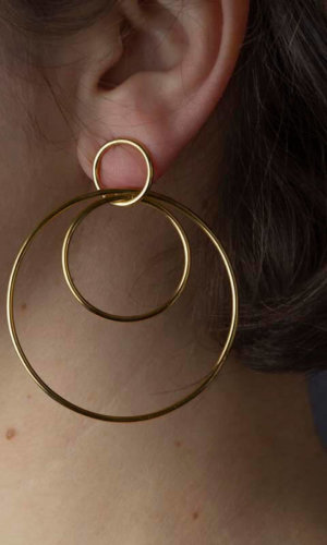 Lola Earrings – 18K Gold Plated