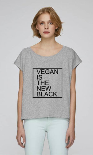 Vegan Is the New Black Crop Top