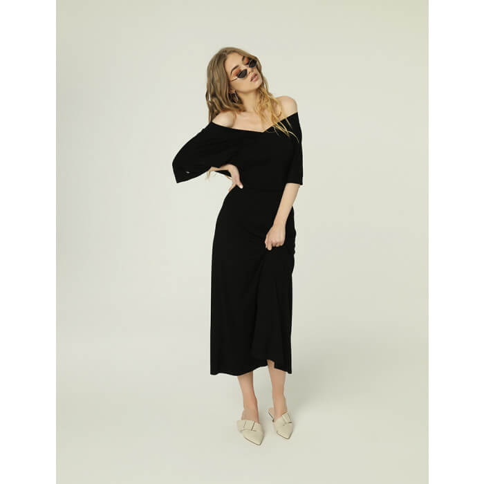 Evie Dress Black.