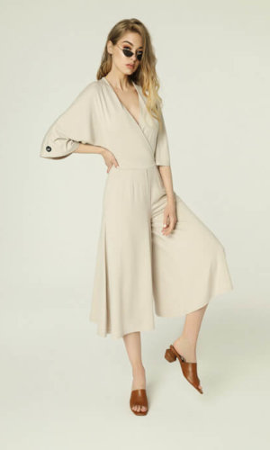 Janis Coverall-Beige