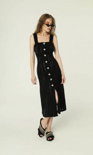 Federica Dress Black,