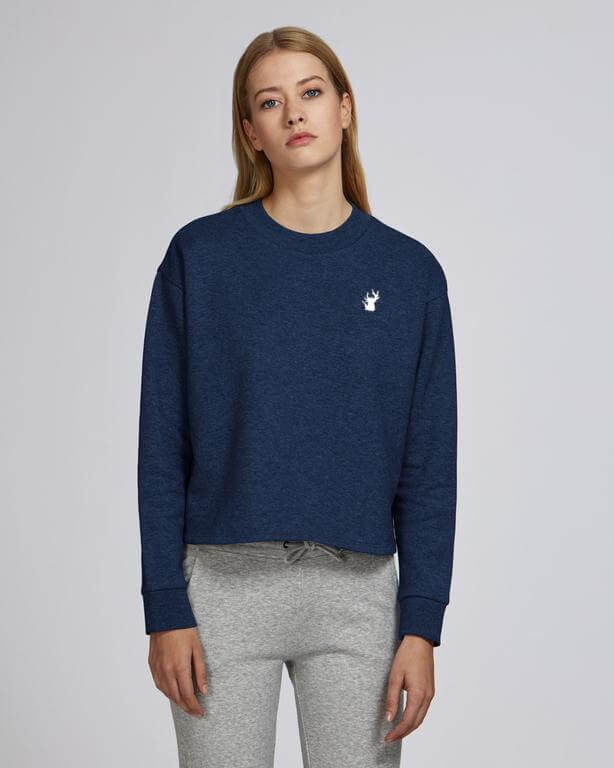 SWEATSHIRT VGTL-Blue