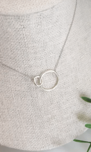 White Gold Unity Necklace