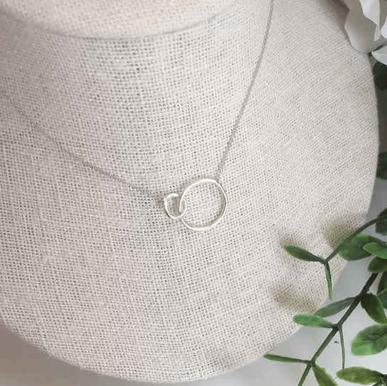 White Gold Unity Necklace