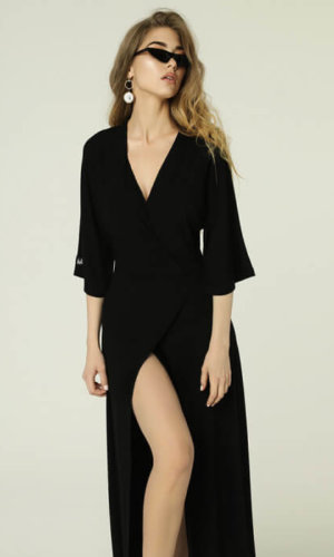 Monica Dress Black