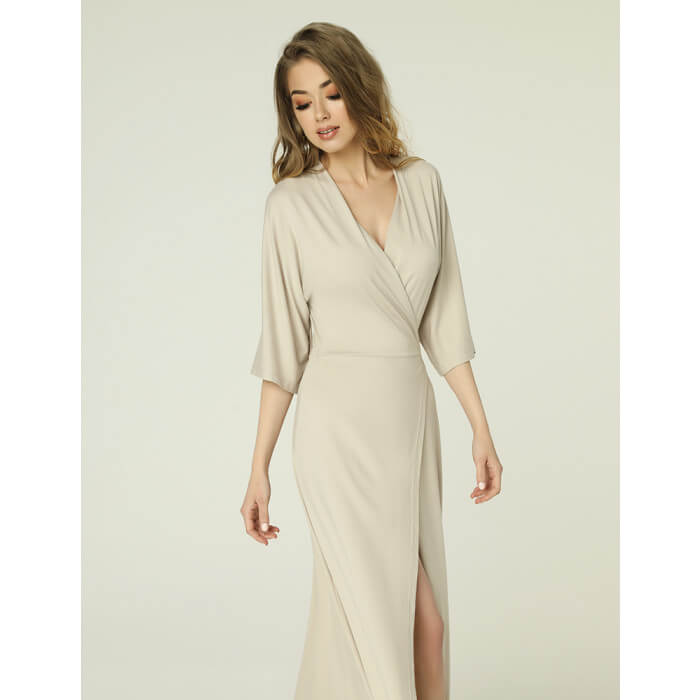Monica Dress Beige