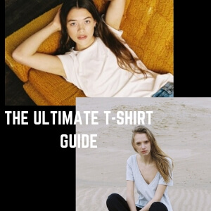 Ultimate T-shirt guide banner