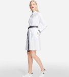 Credit Karl Lagerfeld: Shirt Dress with Logo Belt