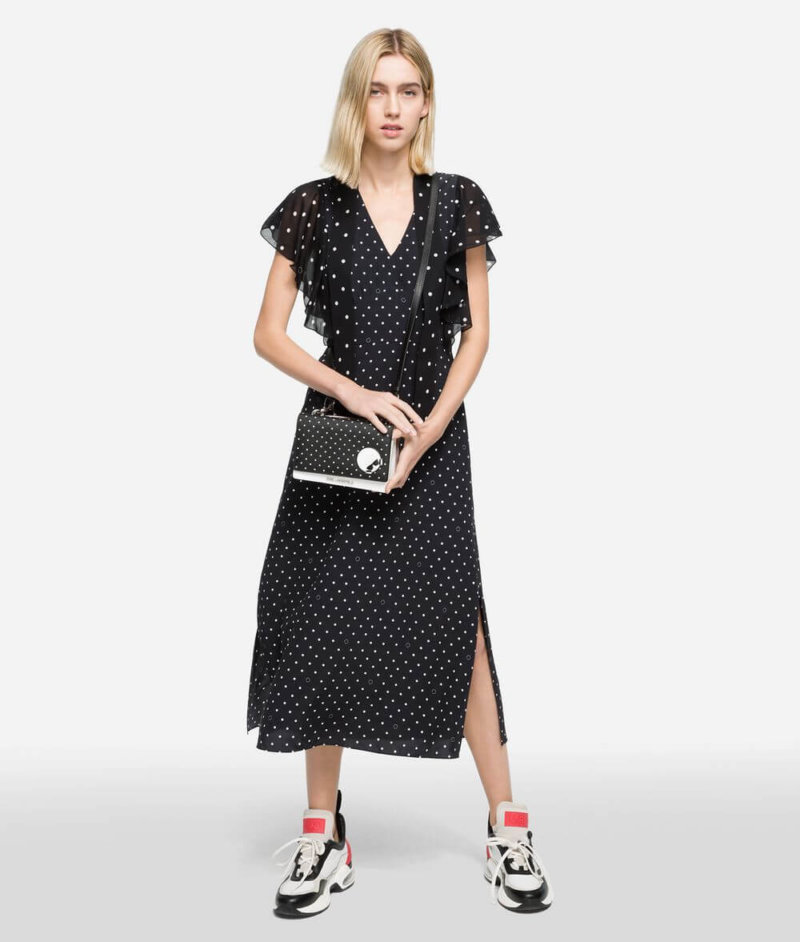 Credit: Karl Lagerfeld-K/Dots Maxi Dress