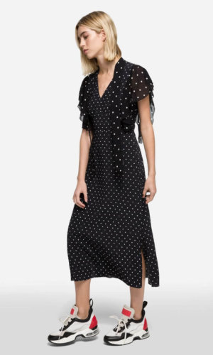 Credit: Karl Lagerfeld-K/Dots Maxi Dress