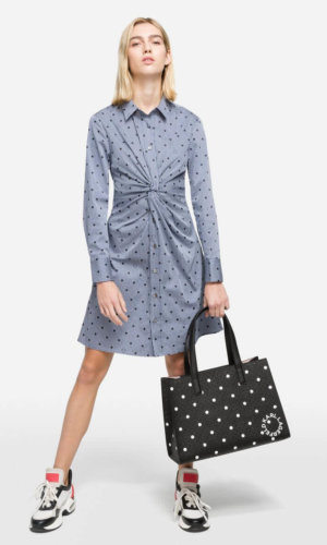 Credit: Karl Lagerfeld- K/Dots Shirt Dress