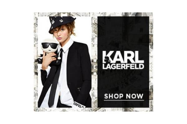 Karl Largerfield Banner