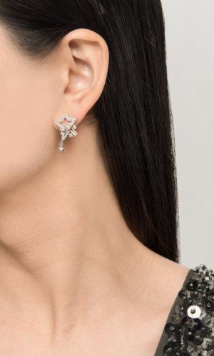 Dainty Star Silver Ear Stud