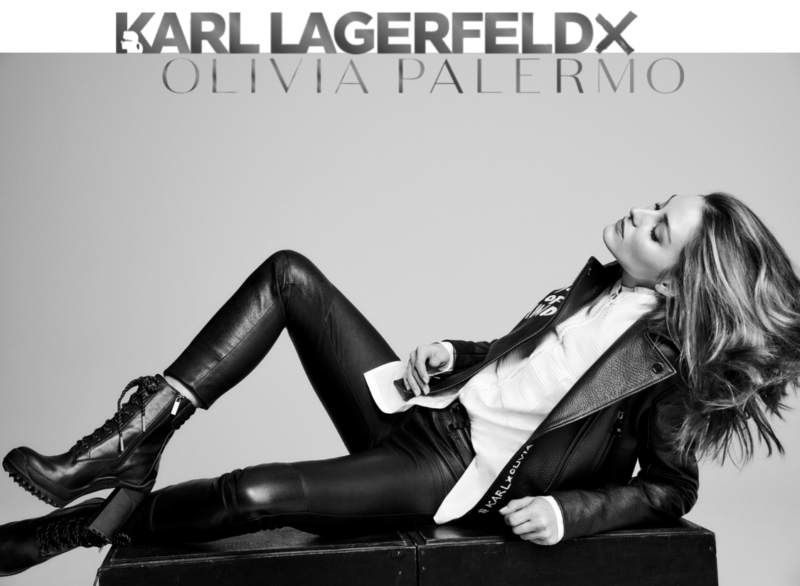 Karl Lagerfeld, Olivia Palermo, collection