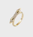 Gold Pointed Ring
