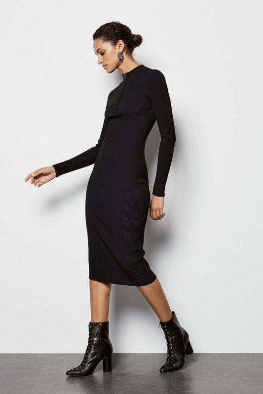 Skinny Rib Dress