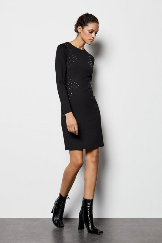 Hot Fix Stud Dress