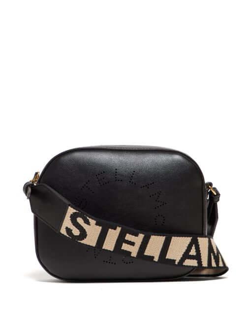 Stella Mccartney - Logo Strap Faux Leather Camera Bag