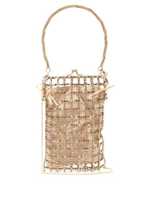 Rosantica By Michela Panero - Robin Crystal Embellished Clutch