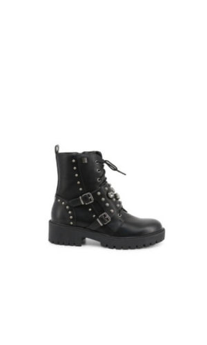 Laura Bagiotti Black Ankle Boots