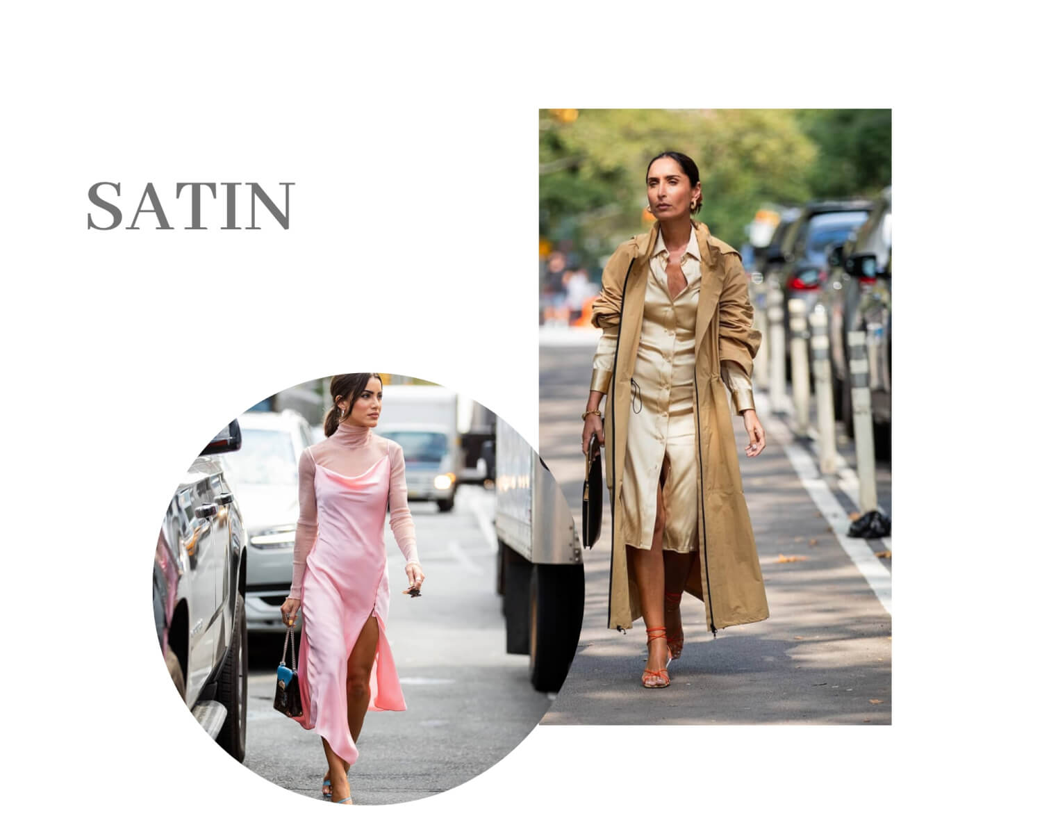 Satin Fashion Trend