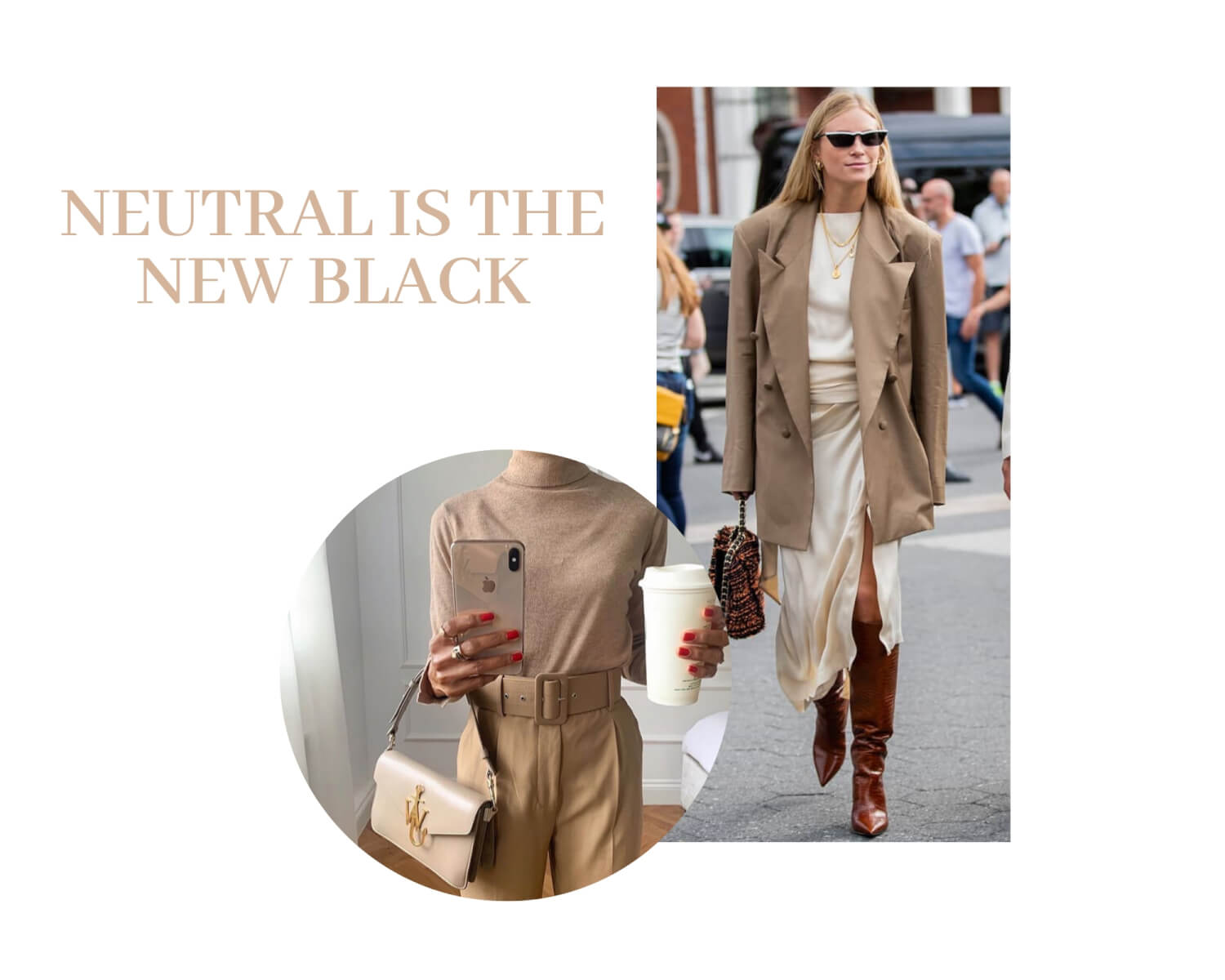 Neutral fashion trend