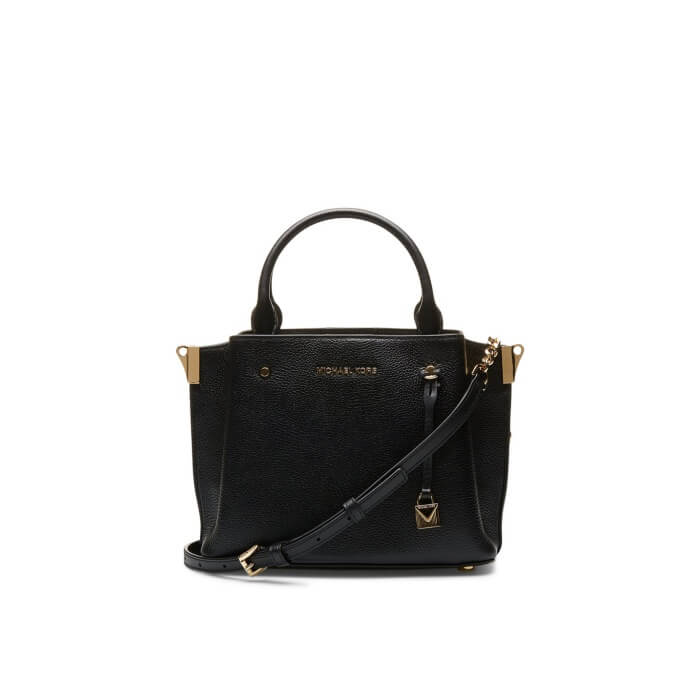 Michael Kors Arielle Small Pebbled Leather Satchel