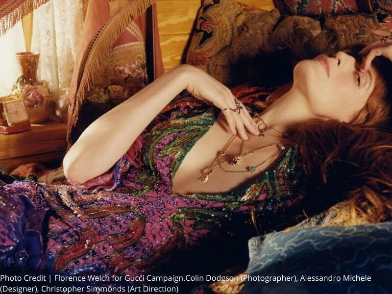 Florence Welch x Gucci Banner