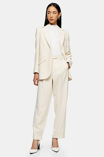 Split Peg Trousers By Topshop Boutique