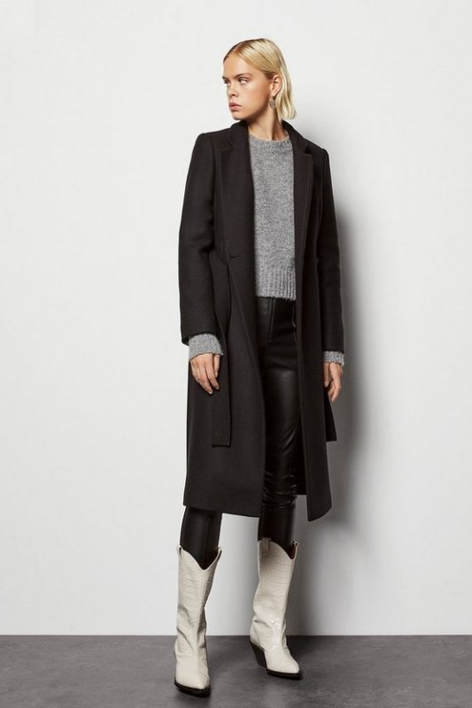 Investment Notch Collar Coat