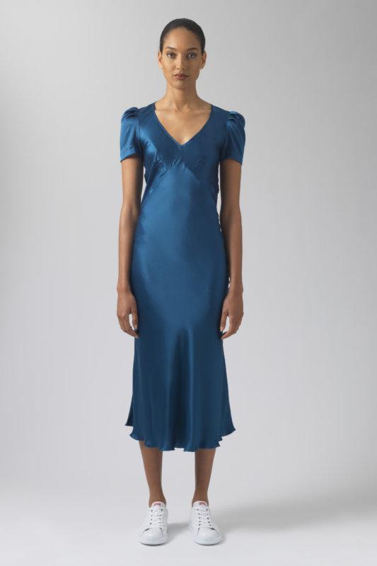 Maia sugar silk dress
