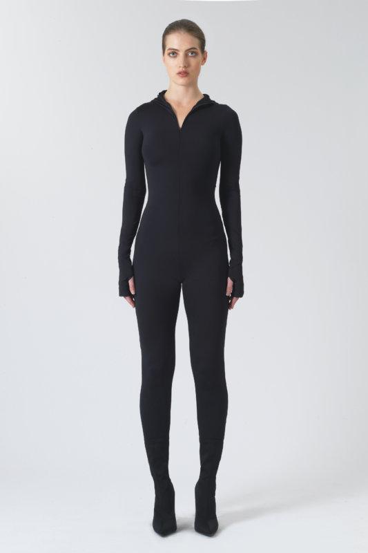 Hetty Black Recycled Polyester Body