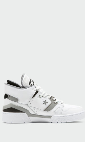 P.E Nation white converse shoes