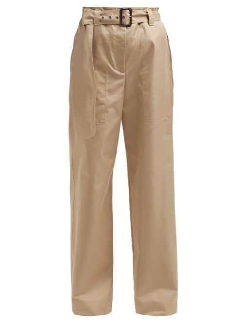 Beige taranto trousers