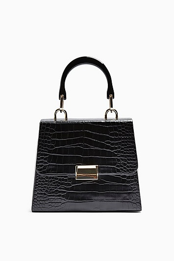Topshop Crocodile Bag