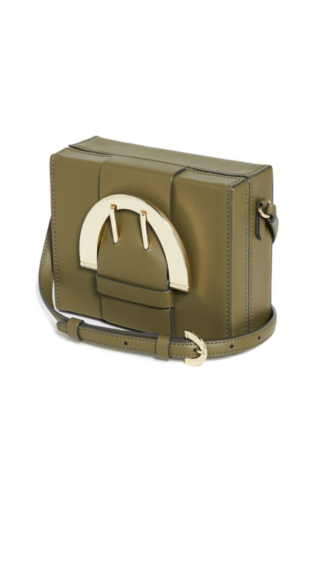 Zac Posen Biba Buckle Large Box Crossbody Bag