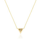 Eros Triangular Pendant Necklace