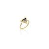 Hera Gold Triangular Ring