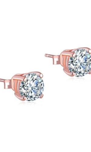 Rose Gold Plated Earrings