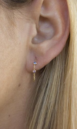 Women's Jewellery Candy Sapphire Earrings