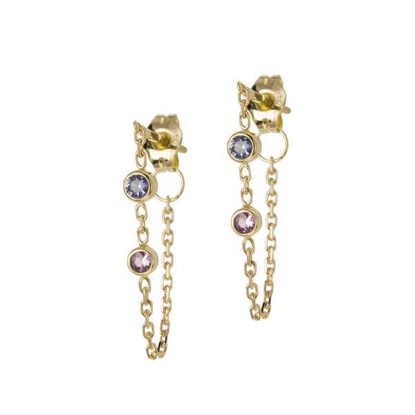 Women's Jewellery Candy Sapphire Earrings