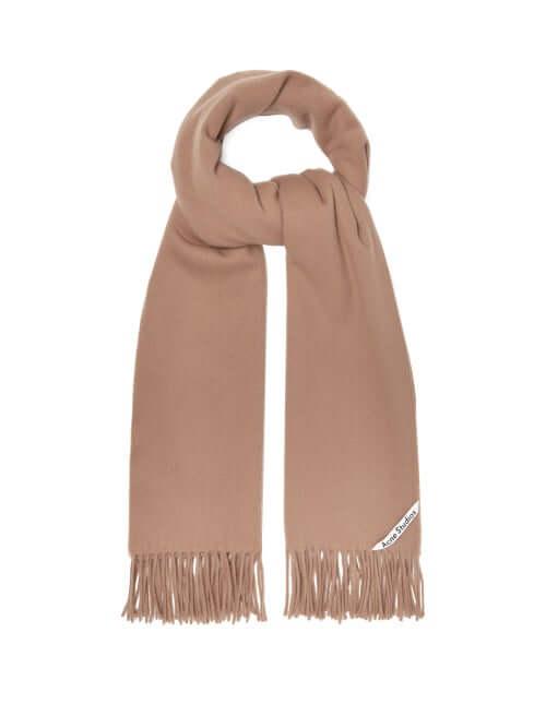Designer gift for her acne studios scarf