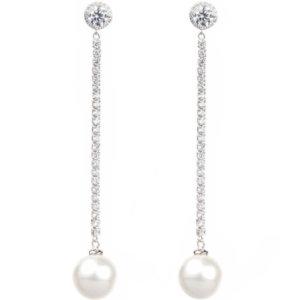 Designer earrings pearl