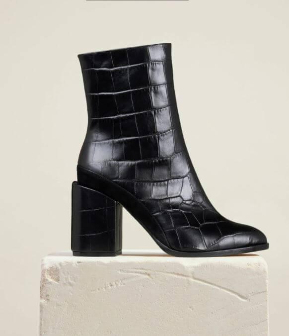Designer gift for her Dear Frances Ankle Boots